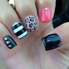 Can't decide what color or design for your nails? Have 'em all! :)
