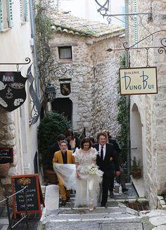 Saint Paul de Vence, uma cidadezinha do sul da França