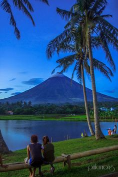What a beautiful view Mayon volcano Albay Philippines