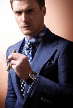 Tom Ford Suit Polkadots