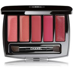 CHANEL HARMONIE LEVRES - COLLECTION LA PERLE DE CHANELLip Palette -... (1.565 UYU) ❤ liked on Polyvore featuring beauty products, makeup, lip makeup, beauty, lips, cosmetics, filler, arabesque, palette makeup and chanel