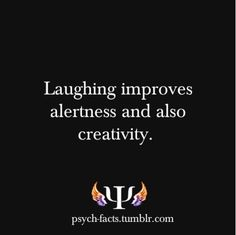 So keep on laughing