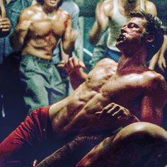 still from fight club Fight Club Brad Pitt, Fight Club 1999, Chuck Palahniuk, Fight Club Workout, Marla Singer, Tyler Durden, David Fincher, Film Serie, Cultura Pop