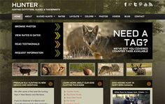 Hunter: Hunting WordPress Theme