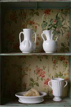 4-3/4H Ceramic Vase, White, 3 Styles