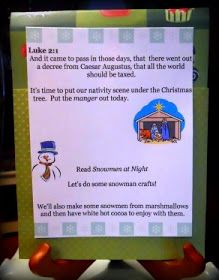 Little Wonders' Days: Printable Advent Activities Days 8-14