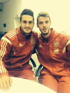 David De Gea. Basically they all look adorable and hot at the same time. | 49 Reasons The Spanish World Cup Team Is Definitively The Hottest World Cup Team