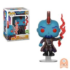 Yondu from Guardians of the Galaxy Vol. 2 gets the Pop! Standing 3 inches tall, this Pop! is shown floating! This version of Yondu is a ECCC shared exclusive, available only at Target! Funko Pop Marvel, Marvel Pop Vinyl, Billy Kid, Funko Pop Dolls, Funko Toys, Guardians Of The Galaxy Vol 2, Otaku, Pop Figurine, Figurines D'action