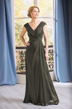 f7b4f3f4b32 J185055 Long Portrait Neckline Jade Tiffany Chiffon MOB Dress