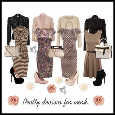 Pretty dresses for work