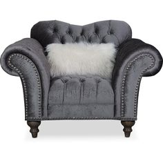 Designer Furniture at Value Prices Chesterfield Chair, Armchair, Dark Master Bedroom, Take A Seat, Traditional Decor, Accent Chairs, Upholstery, Furniture Design, Carving