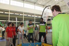 Javi Lucas, Hernández-Sonseca y De la Fuente también se atrevieron con el hockey