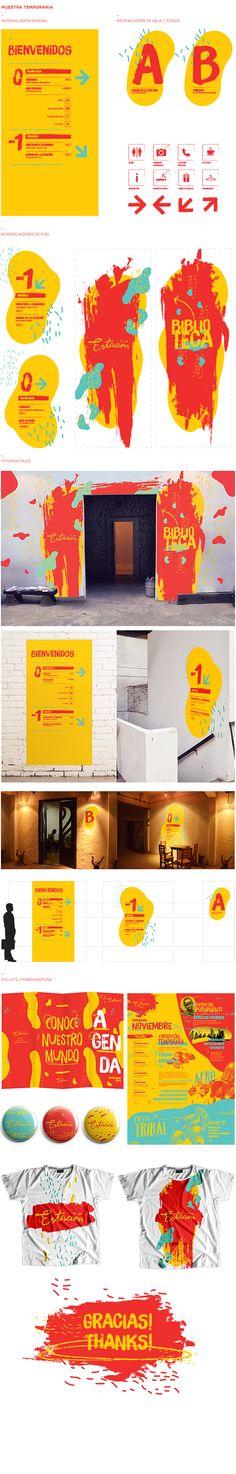 Estación de los Deseos - Identidad Institucional on Behance
