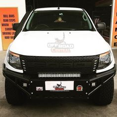 Doesn't this PX Ranger look awesome with the no loop Bull Bar & ORC Light bar? 4x4 Accessories, Bull Bar, Bar Lighting, Offroad, Ranger, Awesome, Fit, Off Road, Shape