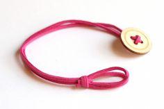 DIY Button Bracelet More