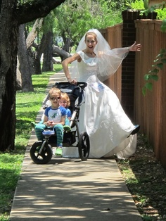 SamanthaH....I run so I can say I fit into my wedding dress 12 years later! funny-running-mommies