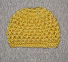 Purely Puffs (large) free hat pattern