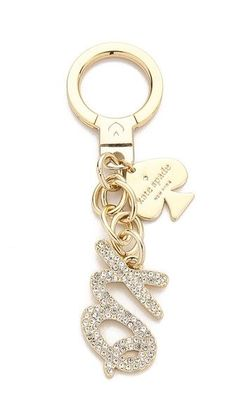 Kate Spade New York Pave XO Keychain | SHOPBOP SAVE UP TO 25% Use Code:GOBIG15