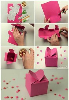 DIY Heart Box Craft Pictures, Photos, and Images for Facebook, Tumblr, Pinterest, and Twitter