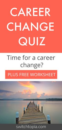 In this free Career Change Quiz you will finally get to see if it is time to change career. Get your career happiness score and a free worksheet Finding The Right Career, Find A Career, Choosing A Career, Dream Career, Career Path, New Career, Dream Job, Careers For Infj, Career Change For Teachers
