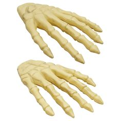View Decorative Skeleton Hands, 6.5x11 in. Ghost Decoration, Skeleton Decorations, Skeleton Hands, Party Supply Store, Dollar Tree Store, Skull Hand, Very Scary, Skull Decor, Halloween Skeletons