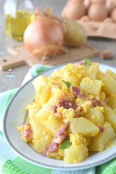 Pasta Alla Carbonara, Good Food, Yummy Food, Best Italian Recipes, Vegetable Sides, Tapas, Antipasto, Finger Foods, Potato Salad