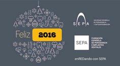 ¡Te deseamos un Feliz y Próspero Año Nuevo 2016 #PeriodonciaParaTodos ! #SEPA2016