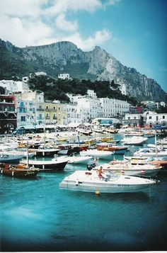 Love Capri, Italy - Take the cable cars to the top of Capri for the best views.  Not expensive, and worth it.