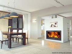 Boiler stoves provide hot water which can run your central heating and hot water. You can get multi fuel and wood stoves with back boilers, some of which can run your whole house, others can contribute. Installation Home Cinema, Tile Installation, Ceramic Floor Tiles, Tile Floor, Boiler Stoves, Patio Tiles, Kitchen And Bath Remodeling, Home Estimate, House Tiles