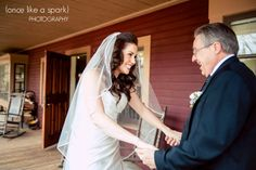 Father of the bride, special moments, wedding ceremony :: Lindsay   Phillip's Wedding at Barnsley Gardens :: with Nikki