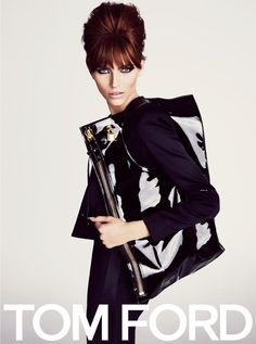 Tom Ford Spring 2013  Karlina Caune photographed by Tom Ford.