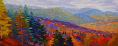 "Contemporary Painting - ""Late Day, Valley View"" (Original Art from Brian Kiernan)"