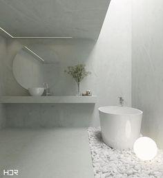 Banheiro concreto  Projeto e 3D @hdrdesigner  Contato: hdrdesigner@gmail.com ------------------------------------------- #design #vray #decor #instadesign #3d #homedecor #designinterior #arquitetura #architecture #instadecor #rendering #casa #home #cg #decoracao #banheiro #bathroom #arquitetos  #arquiteturabh #instagood  #interior #designbh #inspiration  #cgartistlab #thepolybox #boatarde #style #concreto #minimalistic
