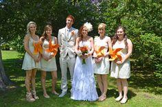 Wedding pinwheels! RULE 42