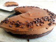 Mocha Chocolate Cashew Cheesecake Recipe