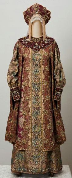 Historical russian costume - The Russian Style - Fashion - Moda - Mode