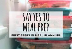 Ready to start meal planning? Here are some tips to help you out!
