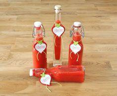 Rezept Erdbeerlimes von bettys-kochwelt - Rezept der Kategorie Getränke