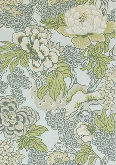 Thibaut Honshu Robins Egg Chinoiserie Floral Decorative Pillow Cover Eurosham or lumbar Floral Curtains, Blue Curtains, Floral Pillows, Large Floral Wallpaper, Textured Wallpaper, Floral Wallpapers, Wallpaper Uk, Chinoiserie Wallpaper, French Wallpaper