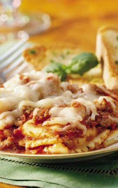 Recipe for Do-Ahead Ravioli Sausage Lasagna - Get a jump start on a delicious casual dinner. Make a pasta casserole the day before and tuck it in the fridge for next-day baking.[amd-zlrecipe-recipe:1240]