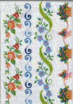 Brilliant Cross Stitch Embroidery Tips Ideas. Mesmerizing Cross Stitch Embroidery Tips Ideas. Cross Stitch Boarders, Cross Stitch Bookmarks, Cross Stitch Rose, Cross Stitch Flowers, Cross Stitch Charts, Cross Stitch Designs, Cross Stitching, Cross Stitch Embroidery, Cross Stitch Patterns