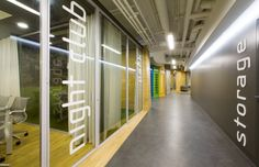 Badoo Development Office by za bor Architects, Moscow office design