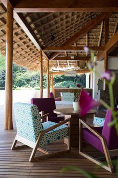 Relax and experience everything Pura Vida has to offer in the stunning Lobby Terrace at Secrets Papagayo Costa Rica.