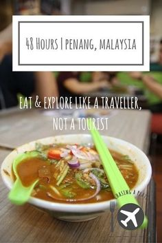 Penang travel guide including where to stay in Penang, things to do in Penang and where to eat in Penang plus Penang restaurants and George Town restaurants George Town, Ipoh, Kuala Lumpur, Malaysia Travel Guide, Malaysia Trip, Malaysia Penang, Travelling Tips, Travel Tips, Travel Guides