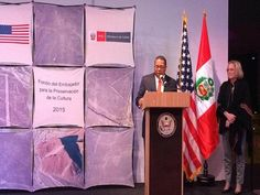 The United States Ambassador to Peru, Brian. A. Nichols, has announced that the Nazca Lines Preservation Project has won the Ambassador's Fund for Cultural Preservation award.
