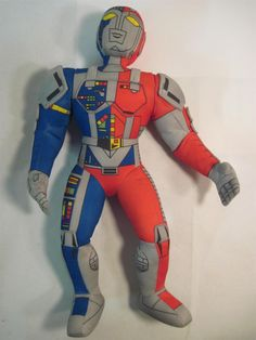 "VR Trooper 17"" Plush Doll Action Figure 1995 Tonka Saban Entertainment   eBay"