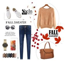 """Shein*12"" by mirelagrapkic ❤ liked on Polyvore featuring Converse, Wood Wood, Marc by Marc Jacobs and Urban Decay"