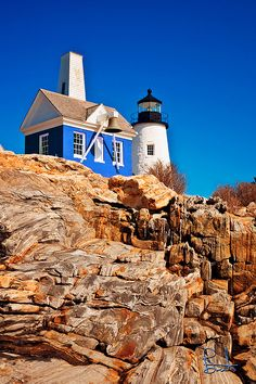 Blue Bellhouse, Maine