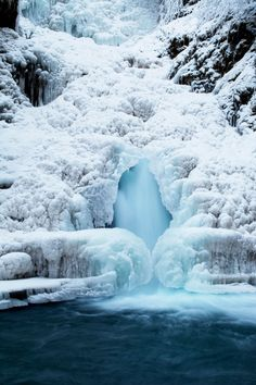 Sure you've seen waterfalls before, but have you ever witnessed the sheer magic of one in the winter? At this time of year, Thunderbird Falls, located in Chugach State Park, is completely frozen over—and it's quite the sight to behold.
