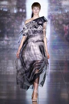 Mary Katrantzou Fall 2013 Ready-to-Wear Fashion Show - Kayley Chabot